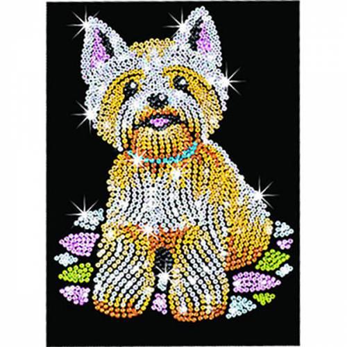 Sequin Art Ltd. Sequin Art Westie 0827