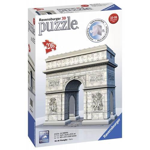 Ravensburger 216pc 3D Jigsaw Puzzle Arc de Triomphe