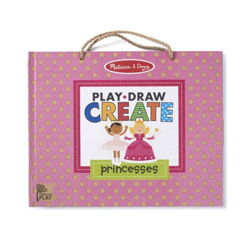 Melissa & Doug Reusable Drawing and Magnet Kit - Princess