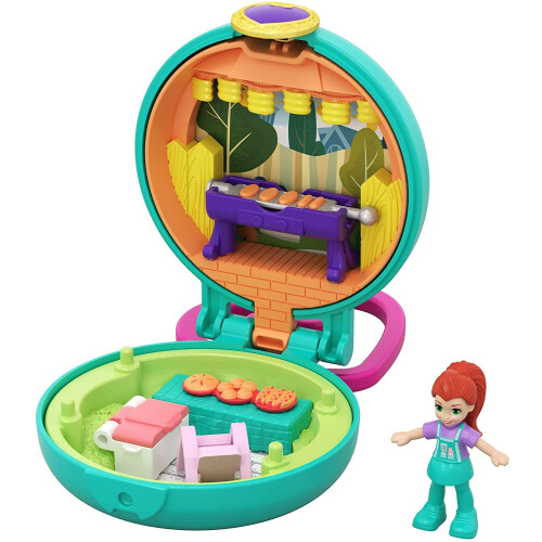 Polly Pocket Tiny Pocket Places BBQ