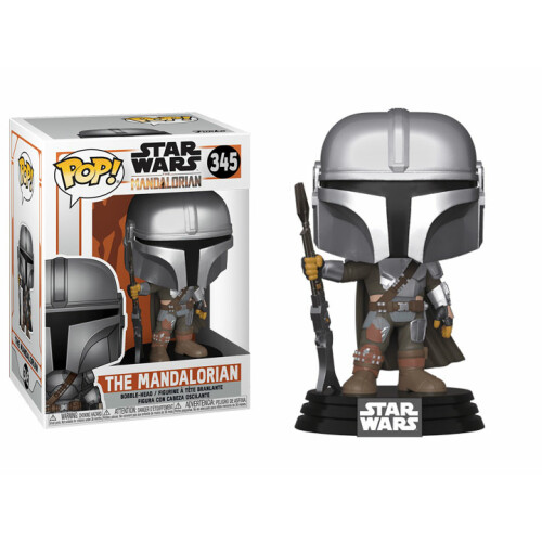 Funko Pop Vinyl - Star Wars The Mandalorian - The Mandalorian 345