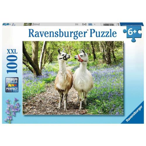 Ravensburger 100XXL Piece Puzzle Llama Love