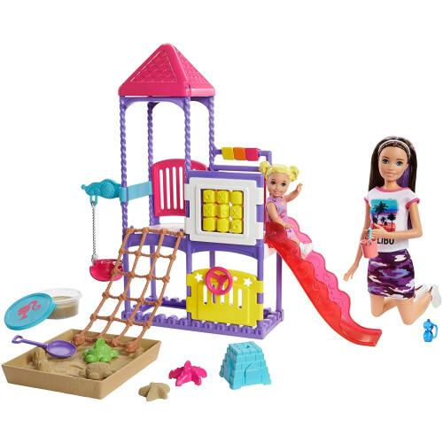 Barbie Skipper Babysitters Inc Climb 'n Explore Playground