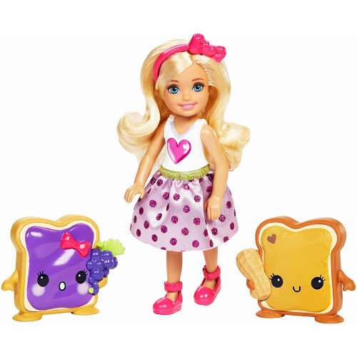 Barbie Dreamtopia Chelsea And Sandwich Friends