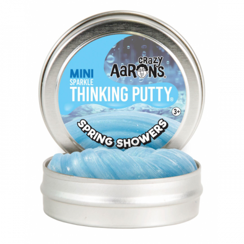 Crazy Aarons Thinking Putty Mini - Spring Showers