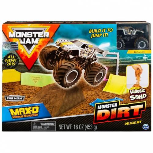 Monster Jam Monster Dirt Deluxe Set - Max-D