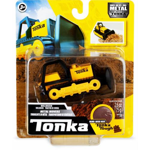 Tonka Metal Movers with Tonka Tough Dirt - Bulldozer