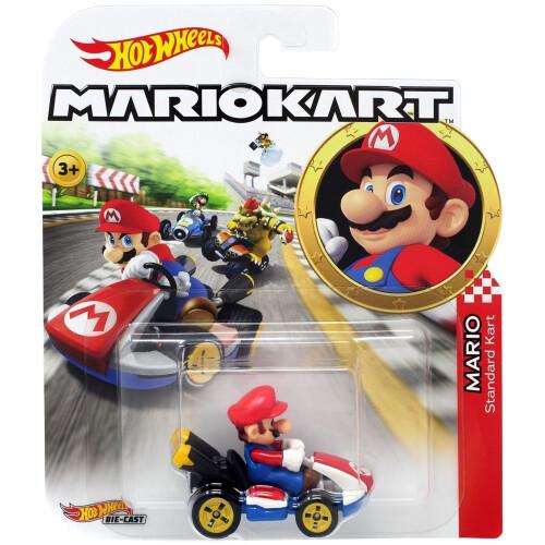 Hot Wheels Mario Kart - Mario (Standard Kart)