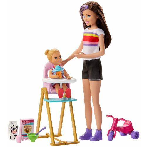 Barbie Skipper Babysitters INC Feeding Time