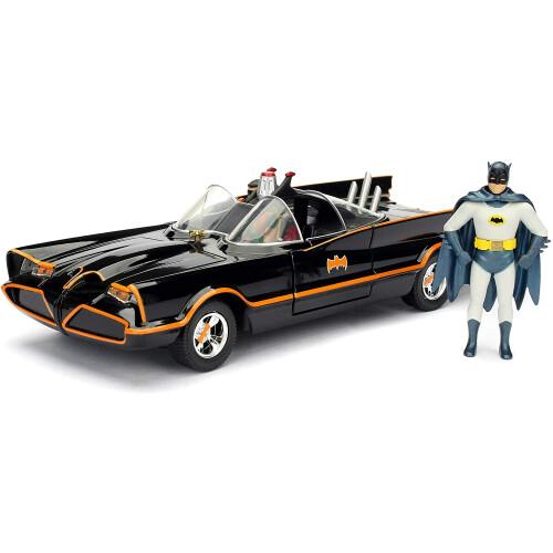 Classic Tv Series Batmobile 1:24 Die Cast