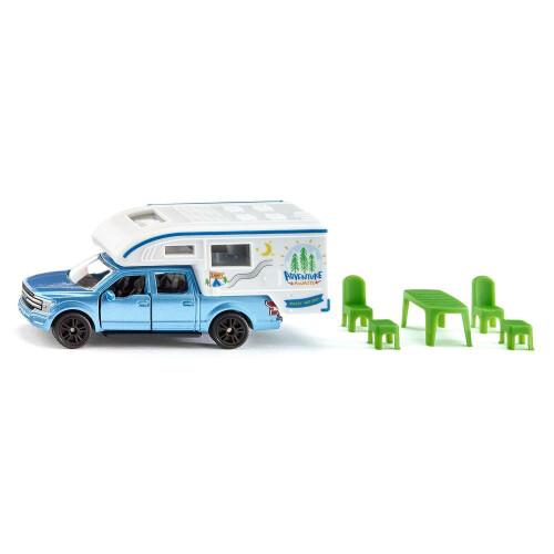 Siku Ford F150 Pick-Up Camper 1693