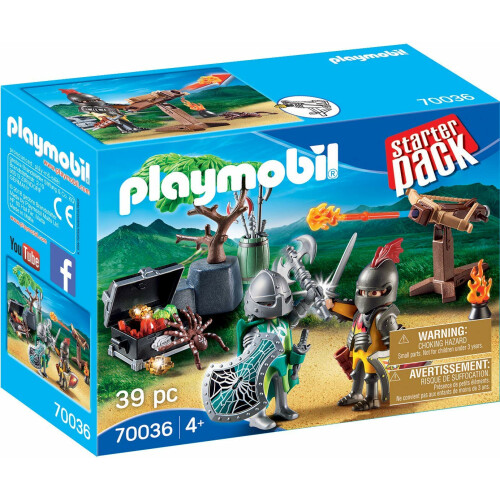 Playmobil 70036 Starter Pack Knight's Treasure Battle