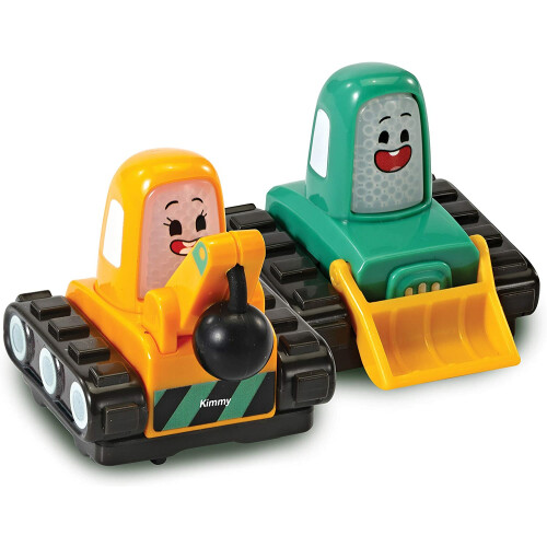 Vtech Toot-Toot Cory Carson 2 Mini Vehicle Pack - Kimmy & Timmy