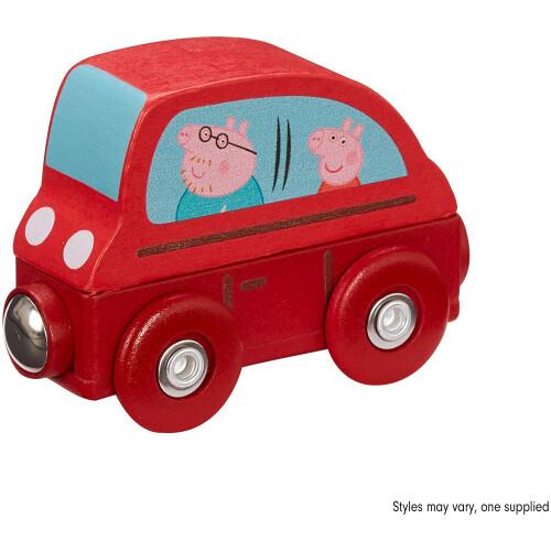 Peppa Pig Wooden Mini Car
