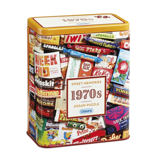 Gibsons Sweet Memories 70's 500pc Puzzle