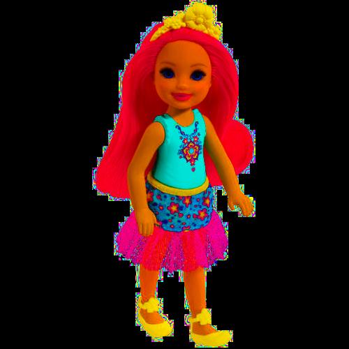 Barbie Dreamtopia Chelsea Fantasy Doll Pink Hair