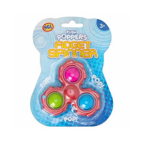 Push Poppers Fidget Spinner