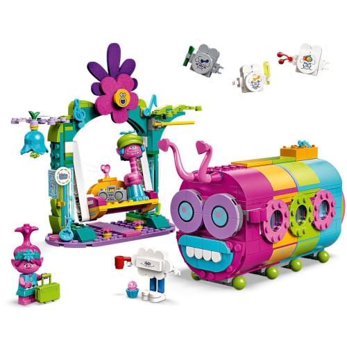 Lego 41256 Trolls World Tour Rainbow Caterbus
