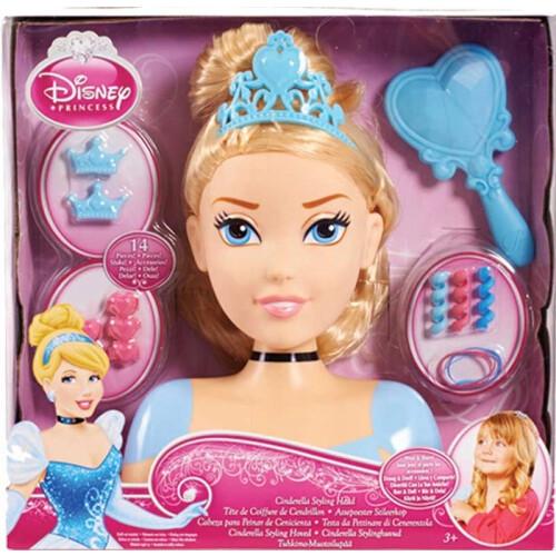 Disney Princess - Cinderella Styling Head