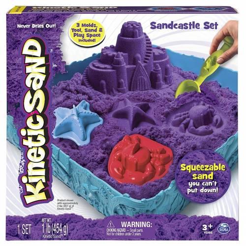 Kinetic Sand Purple Sandcastle Set
