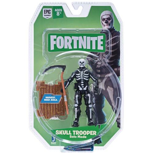 Fortnite Solo Mode 4 inch Figures - Skull Trooper
