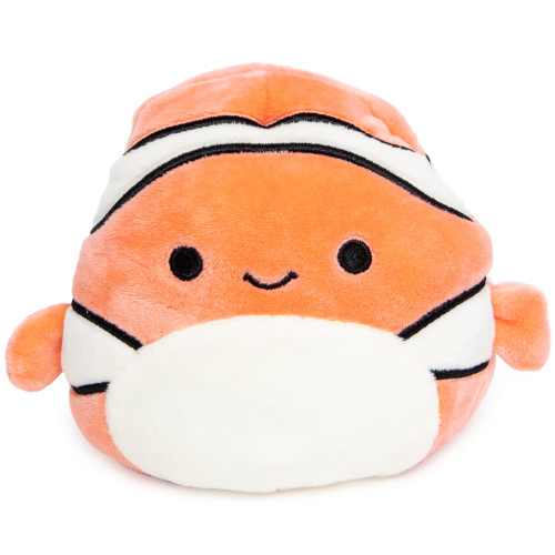 Squishmallows Flipamallows 5 Inch Plush - Clownfish / Shark