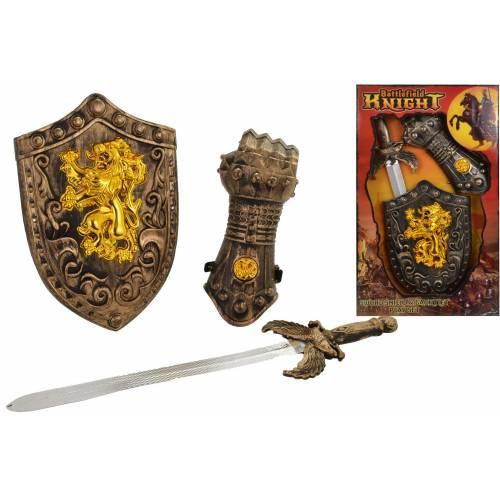 Battlefield Knight Sword, Shield & Gauntlet Playset