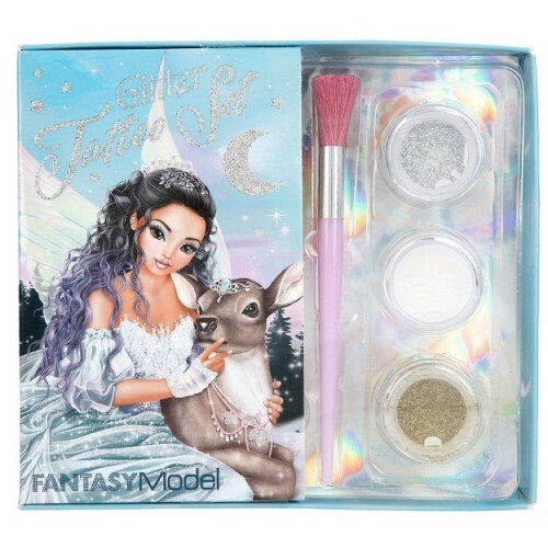 Depesche Fantasy Model Glitter Tattoo Set
