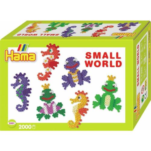 Hama Beads 3501 Small World Seahorses & Frogs Gift Box