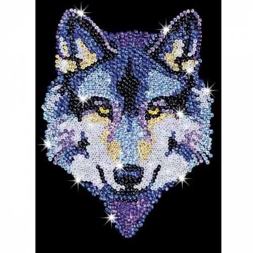 Sequin Art Ltd. Sequin Art Blue Wolf 1215