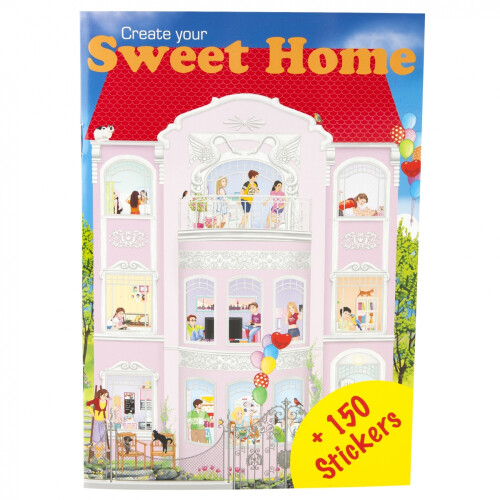 Depesche Create Your Mini Stickerworld - Sweet Home