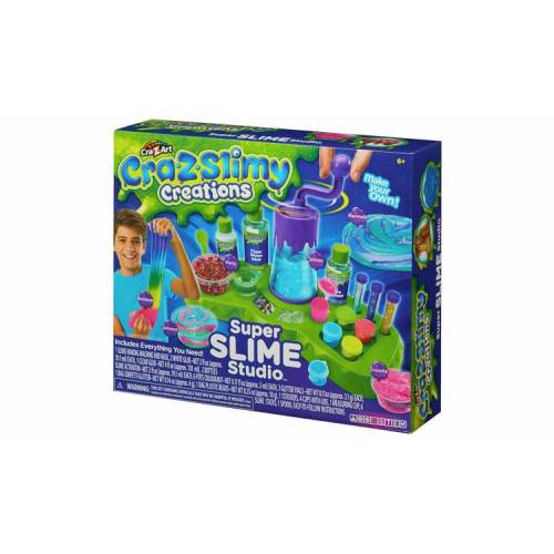 Cra-Z-Slimy Super Slime Studio