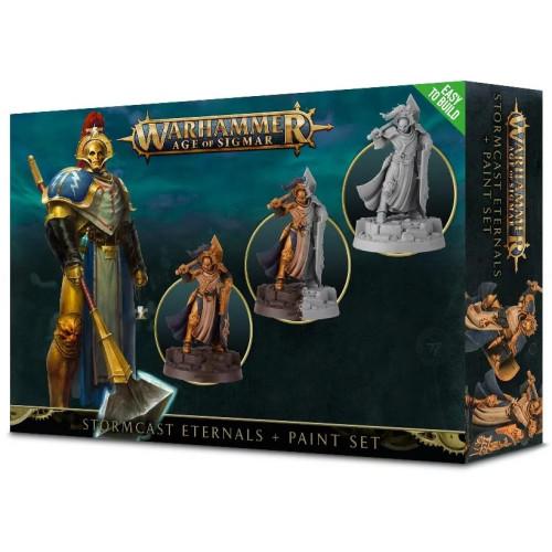 Warhammer Age of Sigmar - Stormcast Eternals + Paint Set