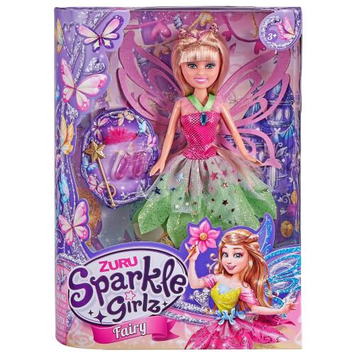 Sparkle Girlz Fairy Doll - Green Dress