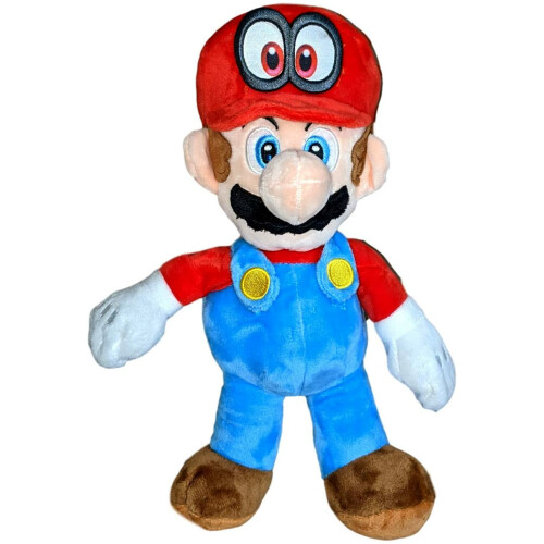 Super Mario 12 Inch Plush - Cappy Mario