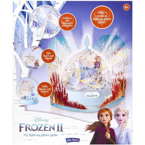 Frozen 2 Light-Up Glitter Globe