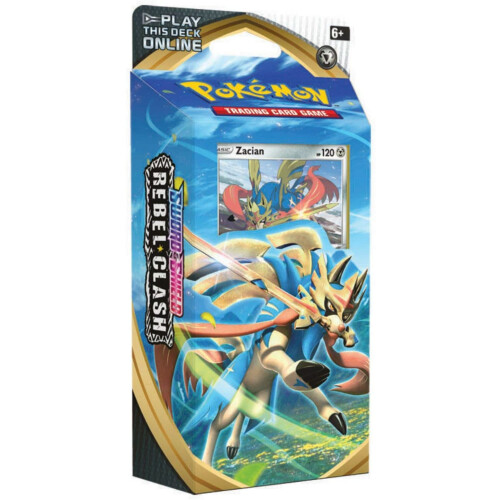 Pokemon TCG Sword & Shield Rebel Clash Zacian Theme Deck