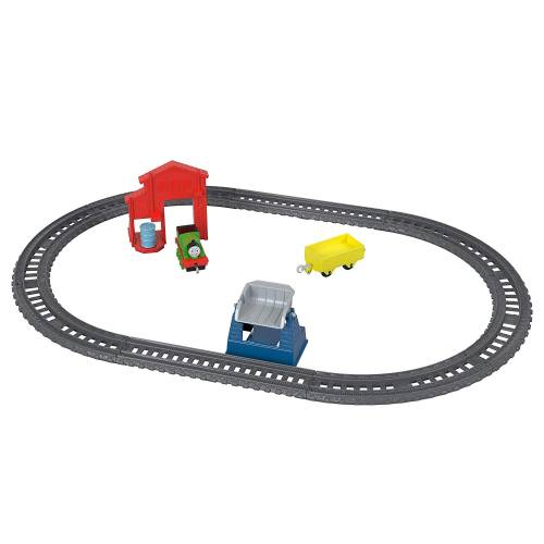 Thomas & Friends Trackmaster Push Along - Percy's Barrel Drop