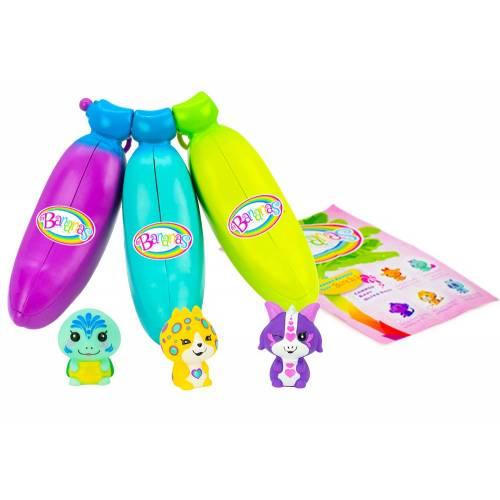 Bananas 3 Pack - Purple, Blue, Green