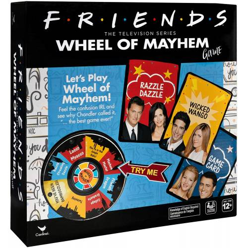 Friends Wheel of Mayhem Game