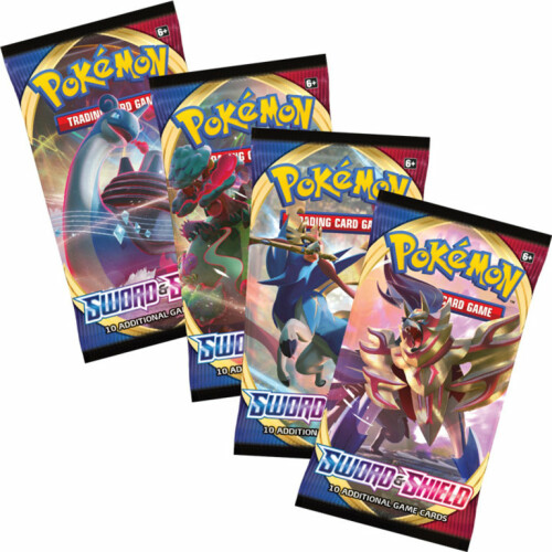 Pokemon TCG Sword & Shield Booster Pack