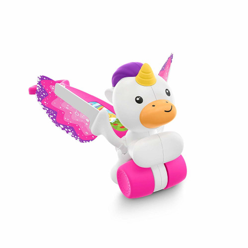 Fisher Price Push & Flutter Unicorn