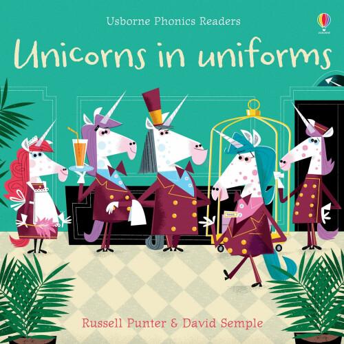 Usborne Books - Unicorns In Uniforms