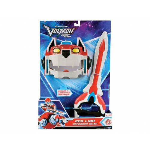 Voltron Red Lion Defender Gear