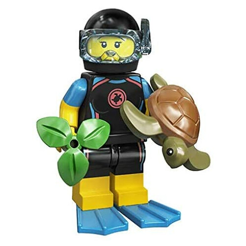 Lego 71024 Minifigure Series 20 Sea Rescuer