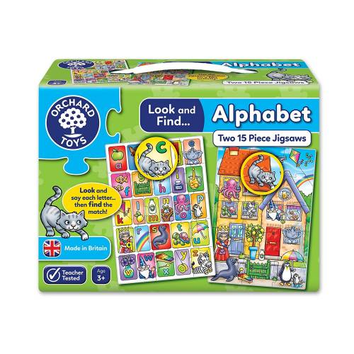 Orchard Look and Find Alphabet Jigsaw Puzzle