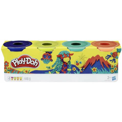 Play-Doh 4 Tub Pack E4867