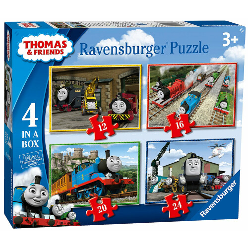 Ravensburger 4 Puzzles in a Box Thomas & Friends