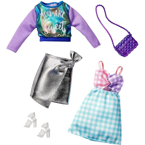 Barbie Fashions Outfit 2-Pack (GHX62)