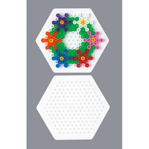 Hama Beads Single Pegboard 223 Small Hexagon